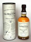 A bottle of Balvenie 12 Year Old Single Barrel - First Fill