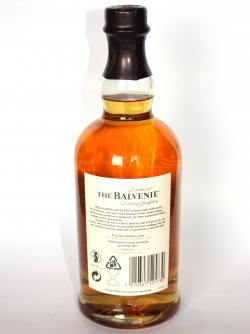 Balvenie 14 year Golden Cask Back side