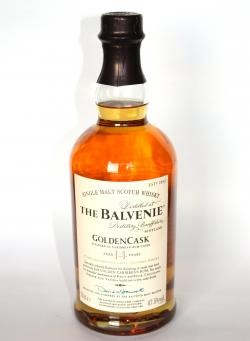 Balvenie 14 year Golden Cask Front side