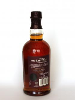 Balvenie 17 Year Old / DoubleWood Speyside Single Malt Scotch Whisky Back side