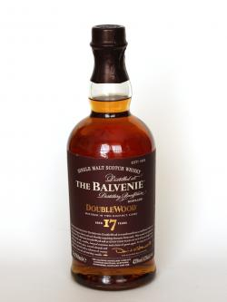 Balvenie 17 Year Old / DoubleWood Speyside Single Malt Scotch Whisky Front side
