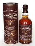 A bottle of Balvenie 17 Year Old / DoubleWood Speyside Single Malt Scotch Whisky