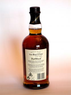 Balvenie 21 year Portwood Back side
