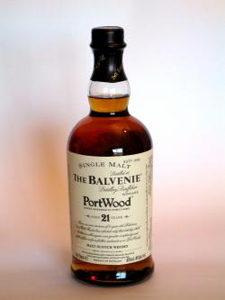 Balvenie 21 year Portwood Front side