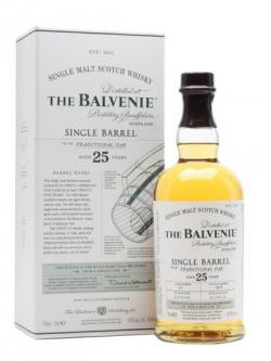 Balvenie single barrel traditional oak 25