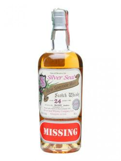 A bottle of Banff 1977 / 24 Year Old / Silver Seal'Missing' Speyside Whisky