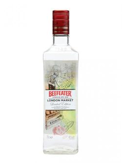 A bottle of Beefeater London Market Gin