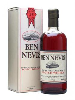 Ben Nevis 1966 / 25 Year Old Highland Single Malt Scotch Whisky