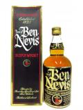 A bottle of Ben Nevis Blended Scotch 8 Year Old