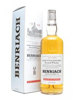 A bottle of Benriach 10 Year Old / Bot.1990s Speyside Single Malt Scotch Whisky