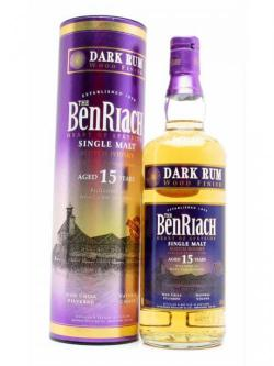 Benriach 15 Year Old / Dark Rum Wood Finish Speyside Whisky