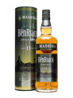 Benriach 15 Year Old / Madeira Wood Finish Speyside Whisky