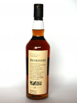 Benrinnes 15 year Front side