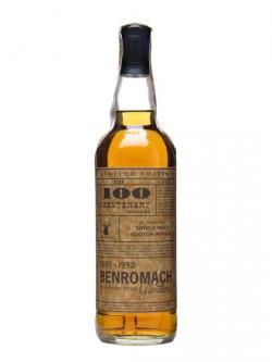 A bottle of Benromach 17 Year Old / Sherry Finish / Centenary Bottling Speyside Whisky