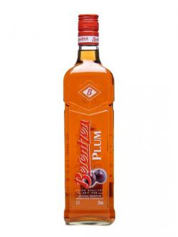 A bottle of Berentzen Liqueur / Plum
