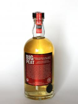 A photo of the back side of a bottle of Big Peat Blended Malt / Christmas Edition 2012 Blended Whisky
