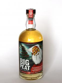 A photo of the frontal side of a bottle of Big Peat Blended Malt / Christmas Edition 2012 Blended Whisky