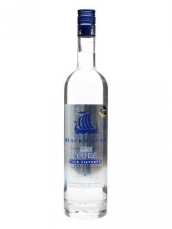 A bottle of Blackwood's Vodka