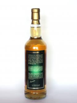Bladnoch 18 year Back side