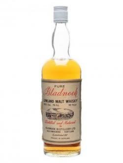 Bladnoch / Bot.1970s Lowland Single Malt Scotch Whisky