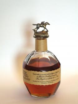 Blanton's Bourbon Back side