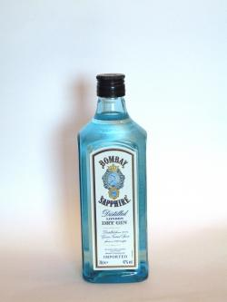 Bombay Sapphire Gin Front side