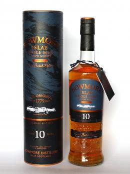 a bottle of Bowmore Tempest