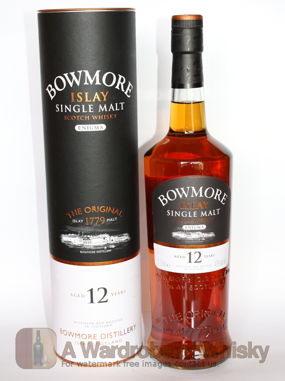 Buy Bowmore 12 year Enigma Single Malt Whisky - Bowmore ... Best Irish Whiskey