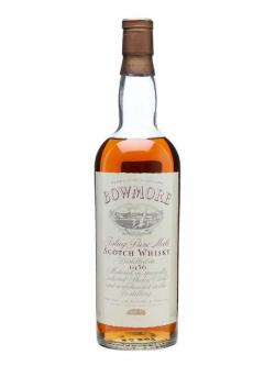 Bowmore 1956 / Bot. 1970's Islay Single Malt Scotch Whis