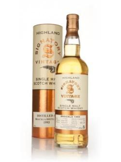 A bottle of Brackla 17 Year Old 1993 (Signatory)