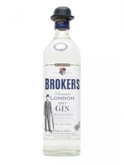 Brokers dry gin review
