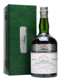 Brora 1972 / 30 Year Old / Platinum Selection Highland Whisky