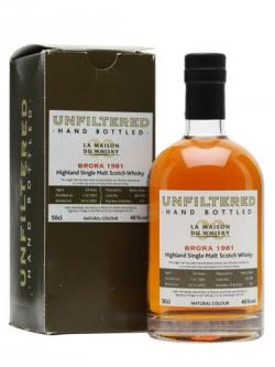 Brora 1981 / 24 Year Old / Bot.2005 / Signatory Highland Whisky