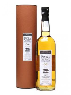 Brora 30 Year Old / 8th Release / Bot. 2010 Highland Whisky