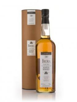 A bottle of Brora 30 years 2005 Release