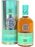A bottle of Bruichladdich 10 year