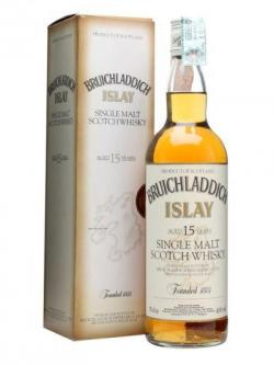 Bruichladdich 15 Year Old Islay Single Malt Scotch Whisky