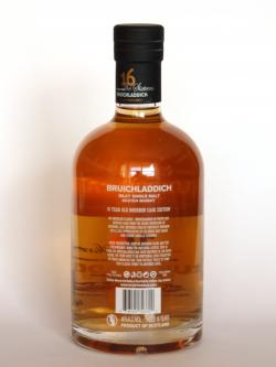 Bruichladdich 16 year Bourbon Matured Back side