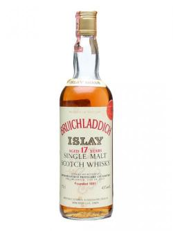 Bruichladdich 1964 / 17 Year Old / Bot.1980s Islay Whisky