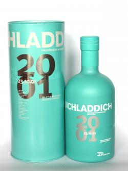 A bottle of Bruichladdich 2001 Resurrection