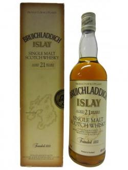 Bruichladdich Islay Single Malt Old Style 21 Year Old