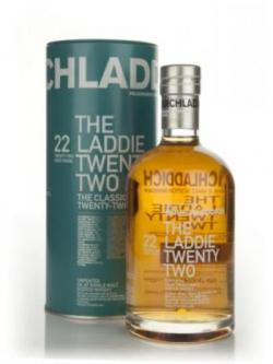 A bottle of Bruichladdich Laddie 22 Year Old