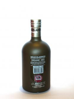Bruichladdich Organic 2003 Back side