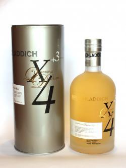 Whisky bruichladdich x4
