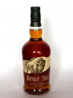 A photo of the frontal side of a bottle of Buffalo Trace
