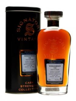 Bunnahabhain 1988 / 24 Year Old / Sherry #2800 / Signatory Islay Whisky