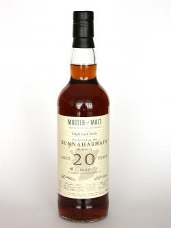 Bunnahabhain 20 year Single Cask Master of Malt