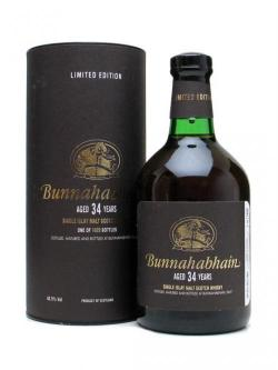 Bunnahabhain 34 Year Old Islay Single Malt Scotch Whisky