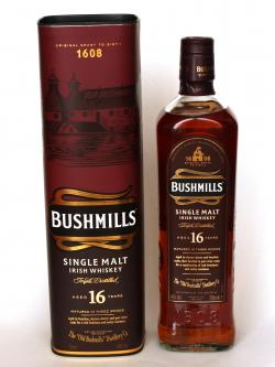 Bushmills 16 Year Old / 3 Wood Irish Single Malt Whiskey