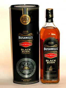 A bottle of Bushmills Black Bush